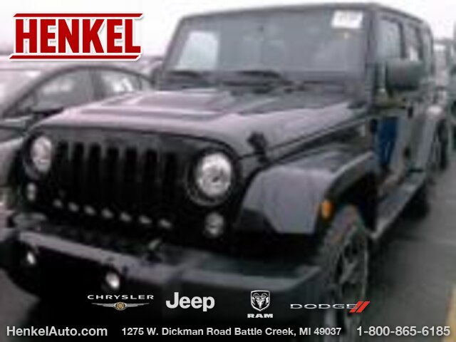 Pre-Owned 2017 Jeep Wrangler Unlimited Smoky Moutain ED