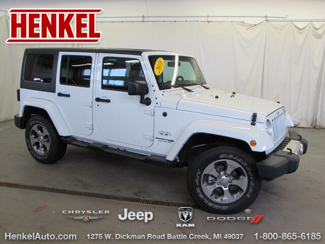 Pre-Owned 2018 Jeep Wrangler JK Unlimited Sahara 4X4