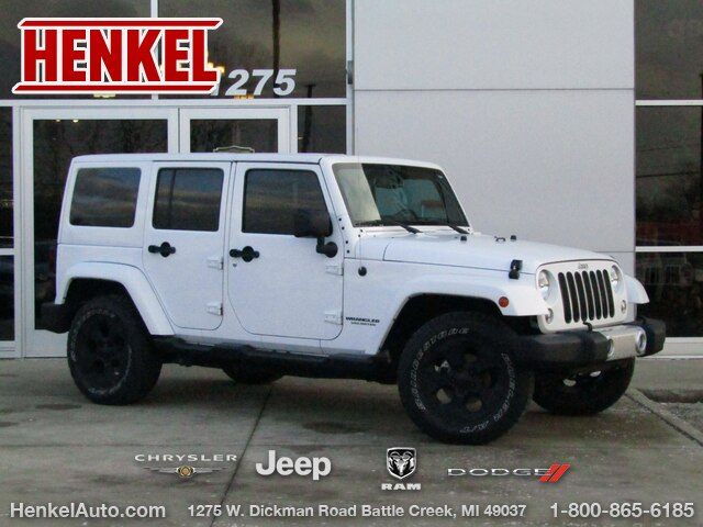 Pre-Owned 2015 Jeep Wrangler Unlimited Sahara 4X4