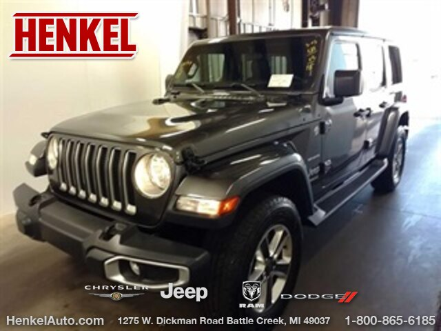 Pre-Owned 2018 Jeep Wrangler Unlimited Unlimited Sahara 4X4