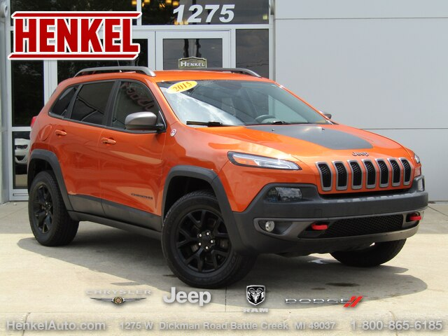 Pre-Owned 2015 Jeep Cherokee Trailhawk 4X4