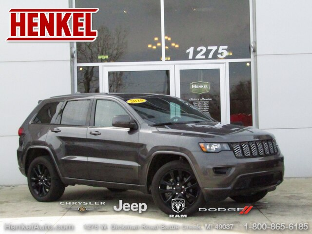 Pre-Owned 2018 Jeep Grand Cherokee Altitude 4X4