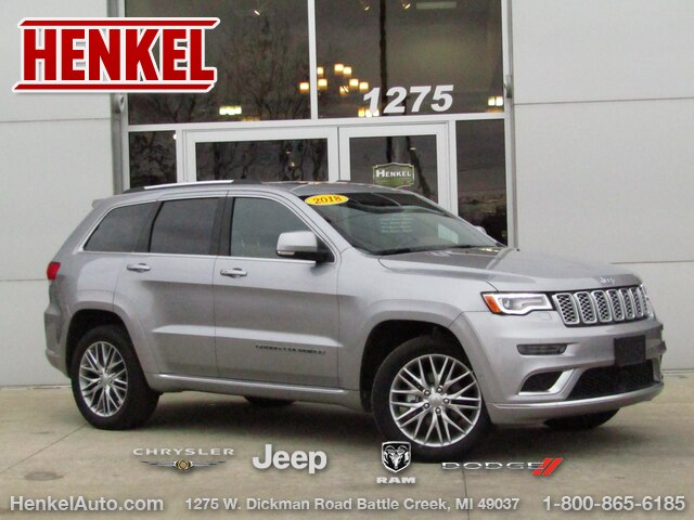 Pre-Owned 2018 Jeep Grand Cherokee Summit Platinum 4X4