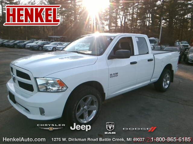 Pre-Owned 2017 RAM 1500 Express Quad 4X4