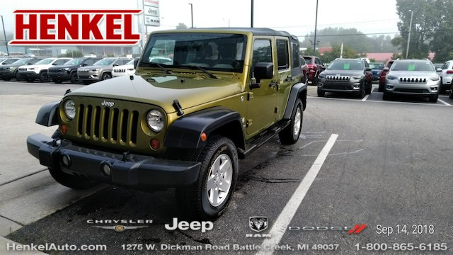 Pre Owned 2007 Jeep Wrangler Unlimited X 4X4