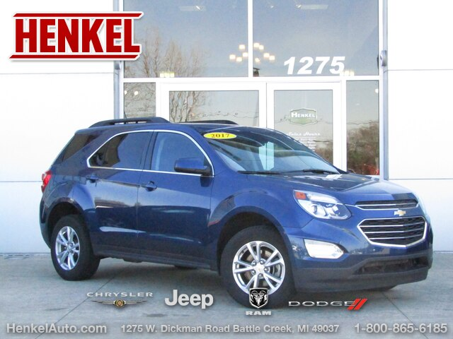 Pre-Owned 2017 Chevrolet Equinox 1LT
