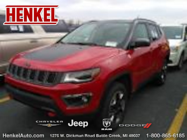 Pre Owned 2018 Jeep Compass Trailhawk 4x4 Suv In Springfield P4099