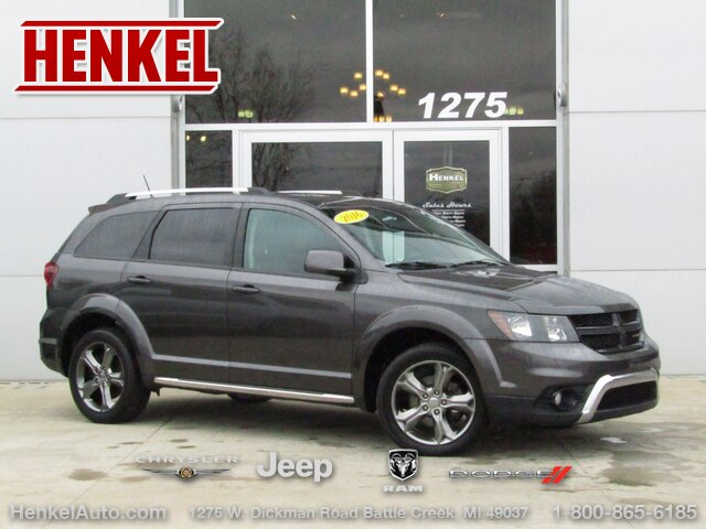 Pre-Owned 2016 Dodge Journey Crossroad AWD