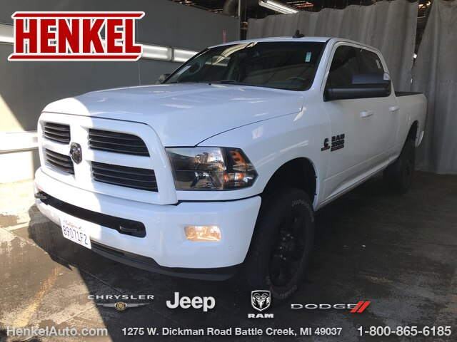 Pre-Owned 2017 RAM 3500 Big Horn Crew 4X4