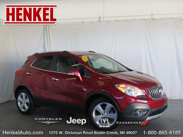 Pre Owned 2016 Buick Encore Convenience Suv In Springfield K3750a