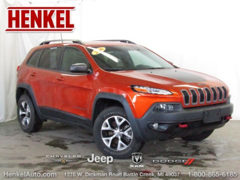 Pre-Owned 2016 Jeep Cherokee Trailhawk 4X4
