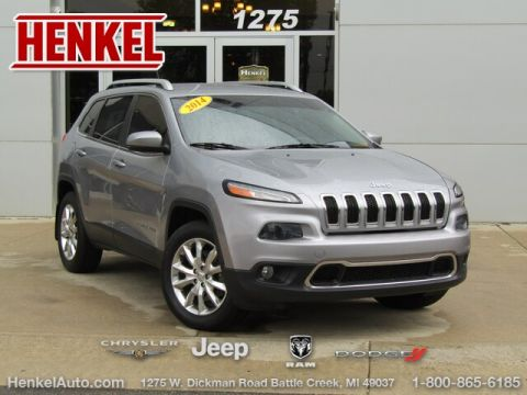 Pre-Owned 2014 Jeep Cherokee Limited 4X4