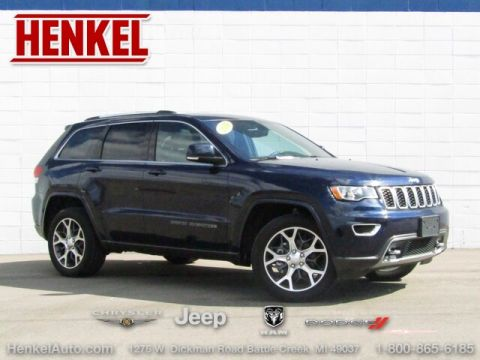 Pre-Owned 2018 Jeep Grand Cherokee Limited Sterling 4X4