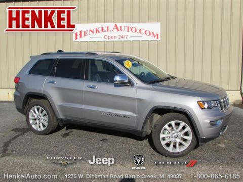 Pre-Owned 2017 Jeep Grand Cherokee Limited 4X4