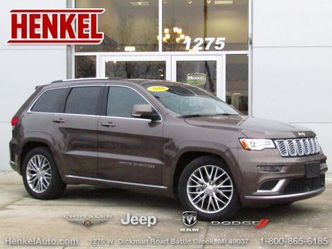 Pre-Owned 2018 Jeep Grand Cherokee Summit 4X4