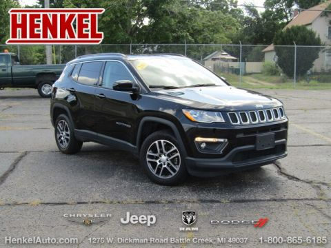 Pre-Owned 2017 Jeep New Compass Latitude 4X4