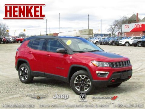 Pre-Owned 2017 Jeep New Compass Trailhawk 4X4