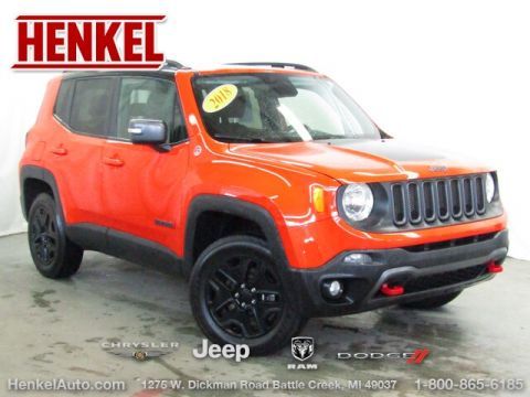 Pre-Owned 2018 Jeep Renegade Trailhawk 4X4